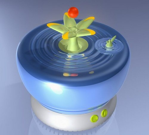 Humidifier for a child