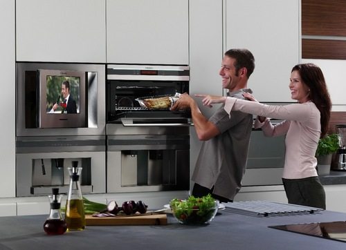 Built-in TV for Electrolux kitchen