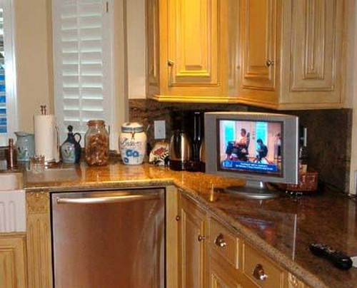 Small TV for the kitchen