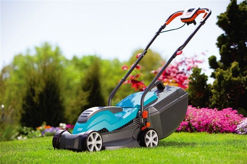 Lawn mower for mowing the lawn