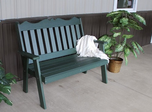 Plastic Folding garden bench