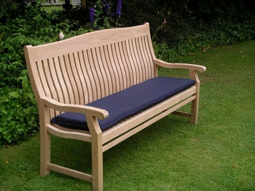 Upholstered bench Garden Photo