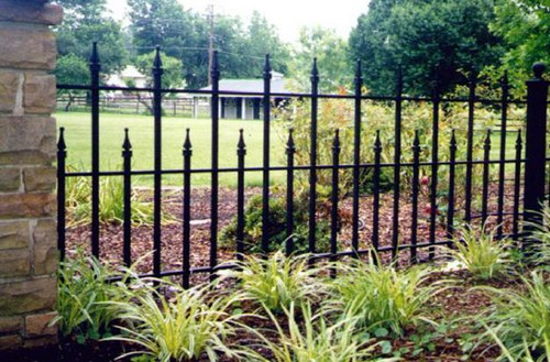 Wrought iron fences Welded