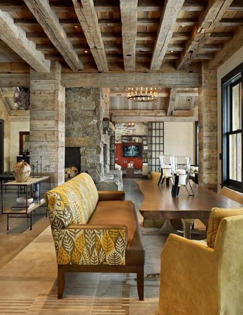 country stil i interi ret designdetaljer bilder. Black Bedroom Furniture Sets. Home Design Ideas