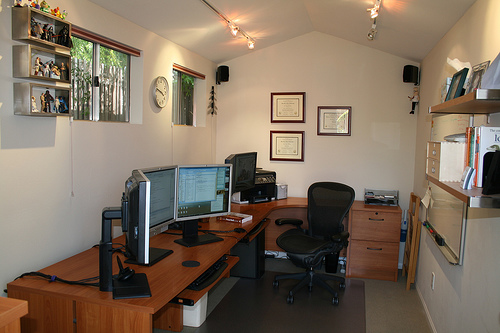 Home offices .Principles of the competent organization