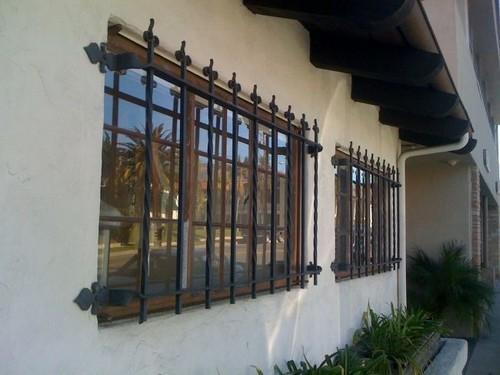 L 39 installazione di grate alle finestre saldato e barre - Grate alle finestre ...