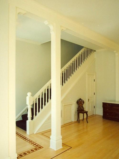 Las columnas en el interior build daily - Columnas decorativas interiores ...