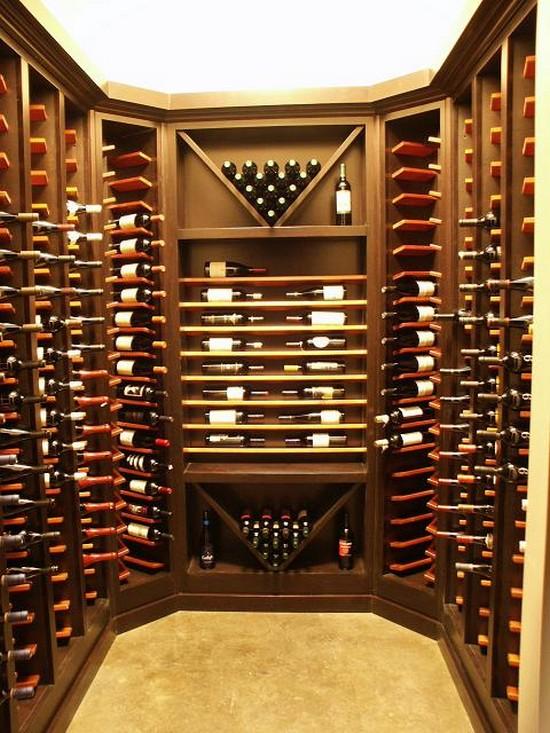 Vinkjeller 30 bilder build daily for Walk in wine cellar