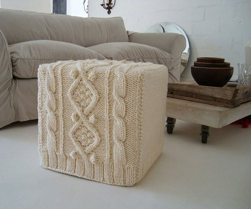 Crochet covers for furniture