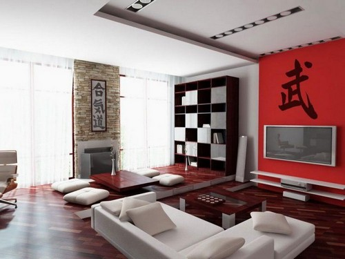 Interior design in the Chinese style