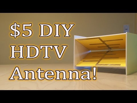 How to make antenna for TV - 4 simple ideas - Build Daily