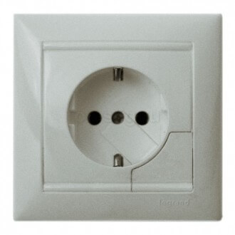 Photo: expeller electric plug