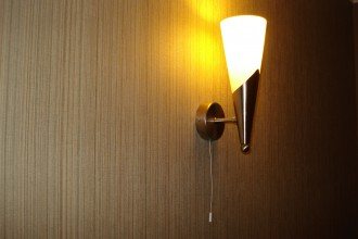 Rope light switch