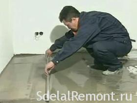 Floor Leveling on beacons video, photo
