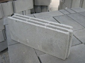 gypsum partition block