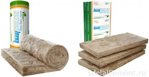 Heat and sound insulation Knauf