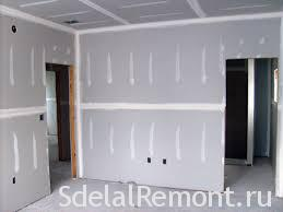 Facing plasterboard