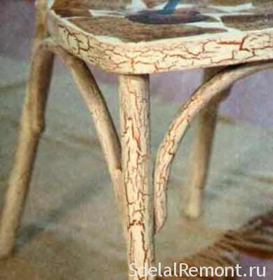 craquelure furniture