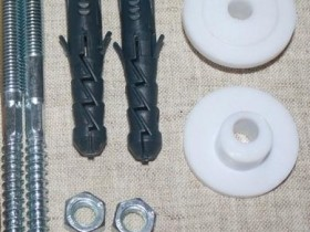 fasteners for washbasin