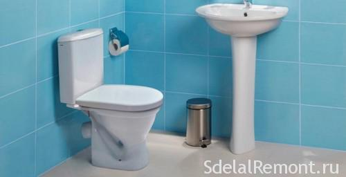 Freestanding toilet