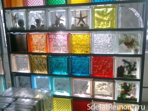 Types of glass blocks