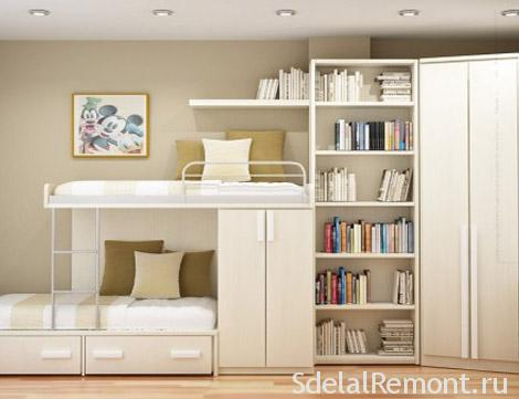 How to furnish a small room