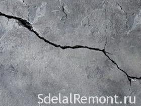 How to seal the crack in the wall photos