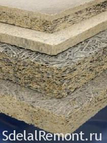 Types of sound-proof materials - Fiberboard