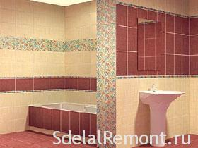 How to choose the right tile for the bathroom room photo