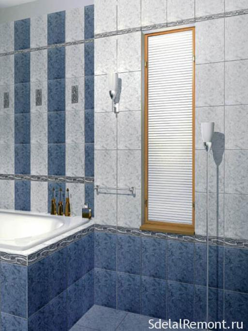 How to choose the right tile for the bathroom and calculate the required number of