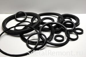 A set of rubber O- rings to punch Interskol