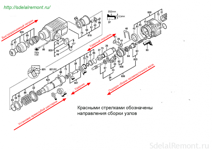 The circuit assembly of the mechanical block units
