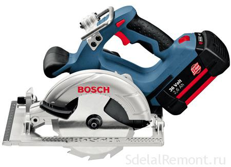 Circular Saw BOSCH GKS 36 V-LI Professional photos