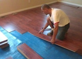 laying laminate