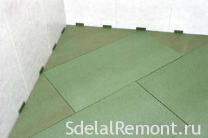 Styrofoam as a substrate for laminate