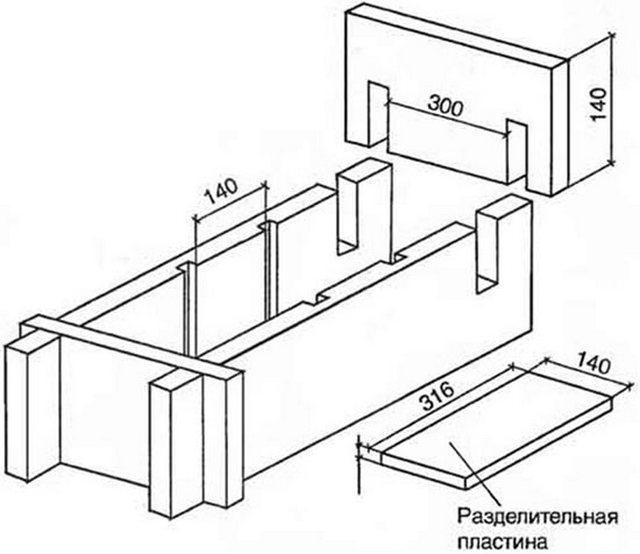 Чертежи станок для арболитовых блоков своими руками 52