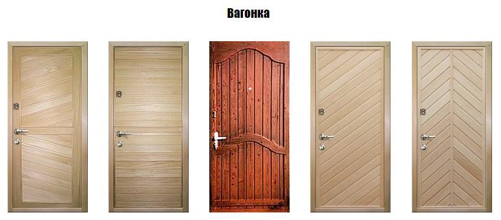 Отделка входной деревянной двери своими руками 63