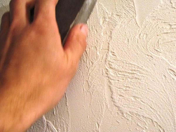 Как сделать стены штукатуркой
