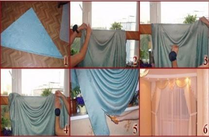 Видеоурок пошив штор своими рука