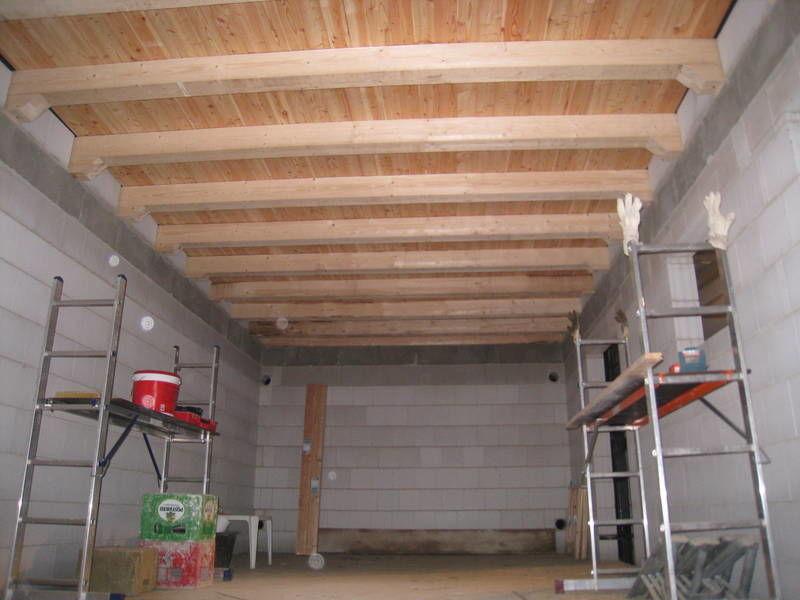Строим крыша гаража своими руками 9