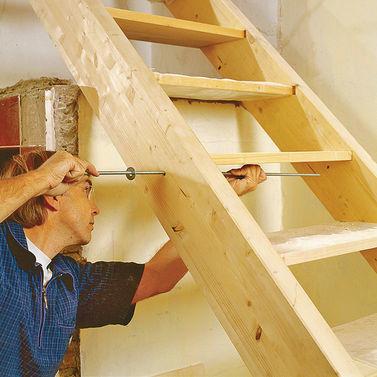 Легкие лестницы своими руками 6