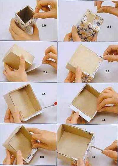 Как сделать поделку шкатулки 659