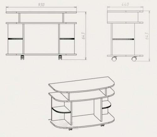 Мебель своими руками чертежи и схемы из лдсп 2
