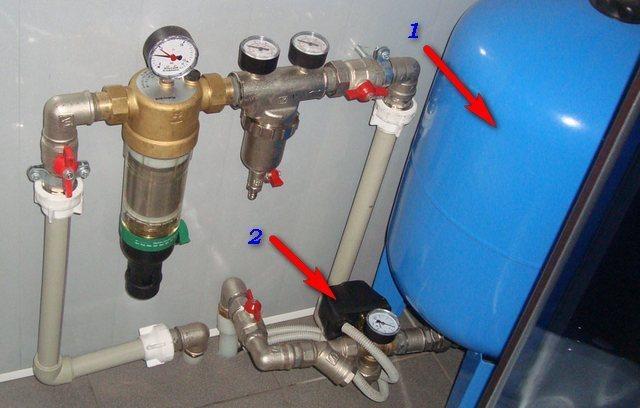 Как сделать подкачку воды в квартире