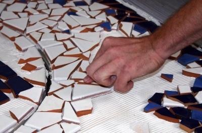 Изготовление напольной плитки своими руками