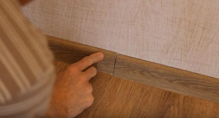 Монтаж плинтуса пластикового своими руками пошаговая инструкция 138