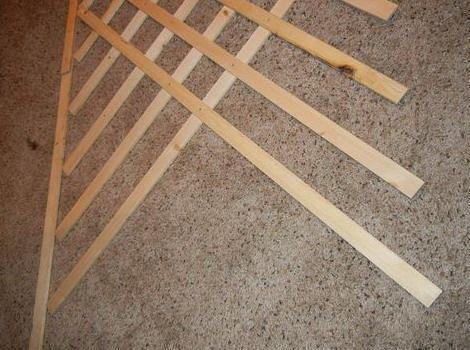 Как сделать деревянные шпалеры своими руками 183