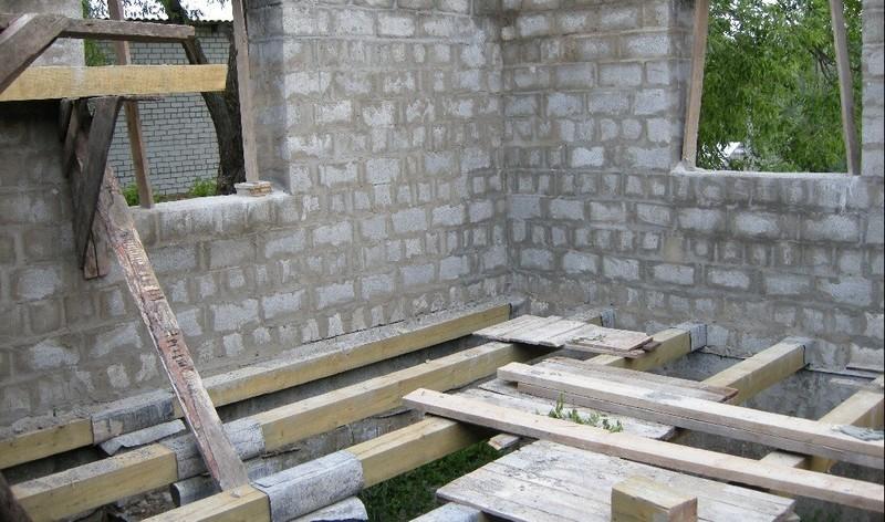 Строительство своими руками дом из пеноблоков