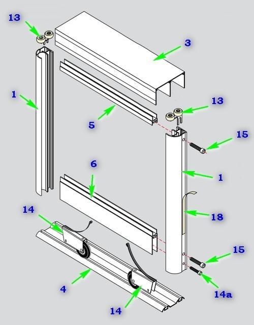 Сборка дверей шкафа-купе своими руками инструкция 89
