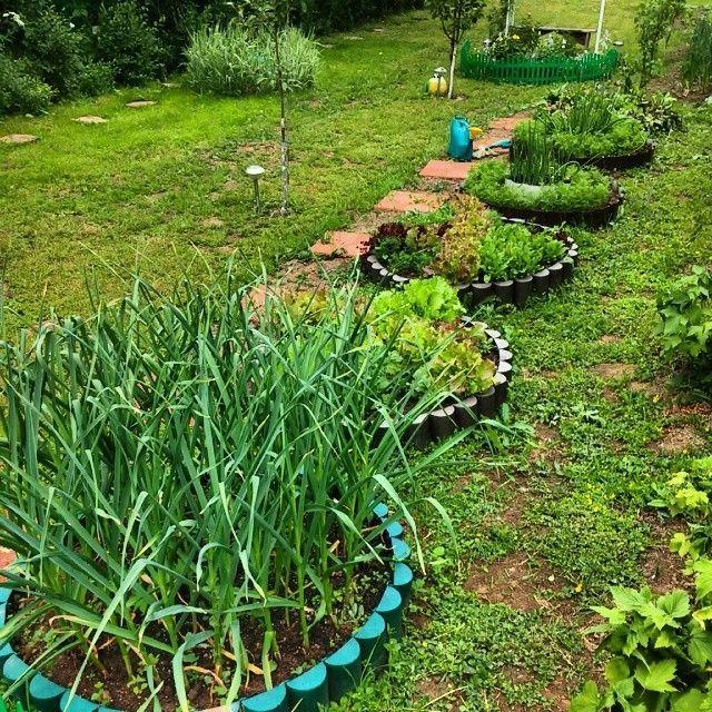 Оформление огорода и сада своими руками 34